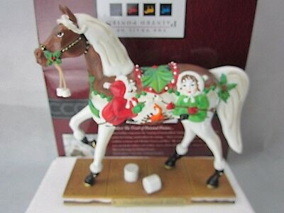 """Holiday S'mores & More"" Trail of Painted Ponies #4018404 Figurine w/Box 1E/4822"