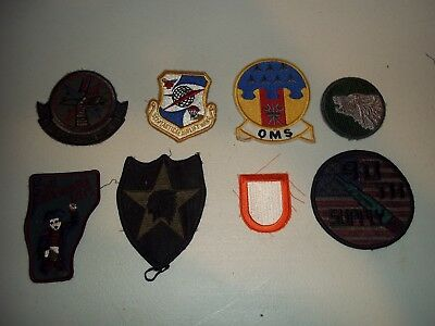 Wwi Wwii Korean War Vietnam Us Army Patch Lot #122