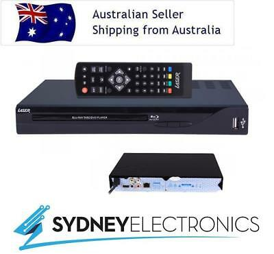 Laser Multi Region Blu-Ray 7.1 DVD/ CD/ Media Player Lan Refurbished BLU-BD3000