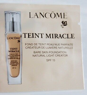 Lancome Teint Miracle Bare Foundation Make-Up Makeup Probe 03 Beige Diaphane 1ml