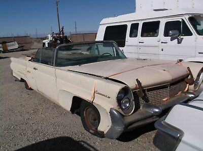 1958 Lincoln Continental  1958 Lincoln Continental Mark III Convertible Project Car for Restoration