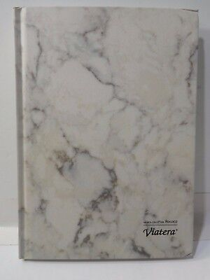 LG Marble Hard cover Dotted Blank Notebook Grid Dot Diary Study Journal 100 Pgs