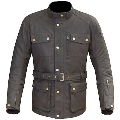 Merlin Motorbike / MC / Touring Altow Thermal Wax Cotton Jacket