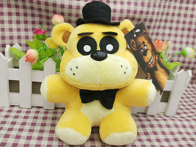 New Funko Golden Freddy Exclusive Five Nights at Freddys 6 ''Plush Toy