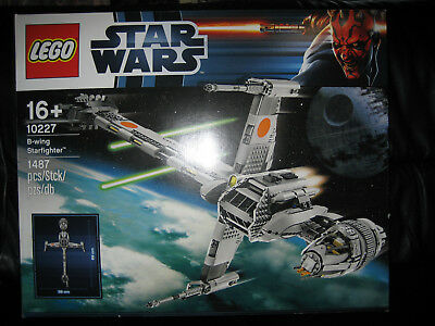 Lego Star Wars 10227 UCS B-wing Starfighter set NEW & SEALED box imperfections