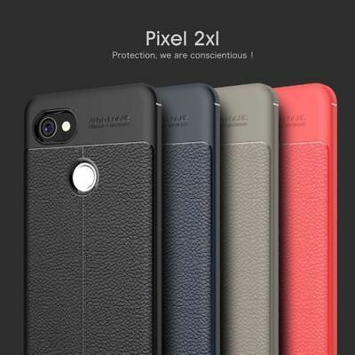 Google Pixel 2/2 XL Case Shockproof Leather Soft TPU Full Cover Thin Protective