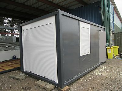 16ft x 10ft PORTABLE SITE OFFICE, SHOWROOM, SALES OFFICE, PRE FAB BUILDING