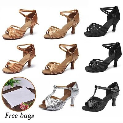 Brand New Ballroom heeled Latin Dance Shoes for Women/Ladies/Girls/Tango&Salsa88