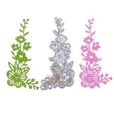 Flower Metal DIY Cutting Dies Stencil Scrapbook Album Paper Card Embossing Craft