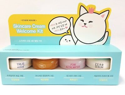 *Etude House* Skincare Cream Welcome KIT (10ml x 4ea) - Korea Cosmetic