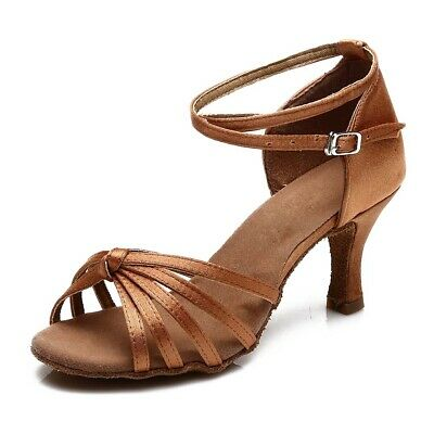 11-Color Brand New Women's Ballroom Latin Tango Dance Shoes Salsa heel protector