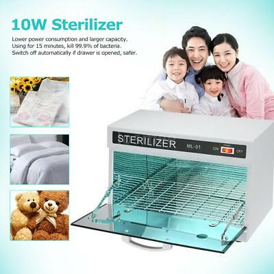 10W Towel Warmer UV Sterilizer Cabinet Salon Nail Facial Spa 2 in 1 U5W5