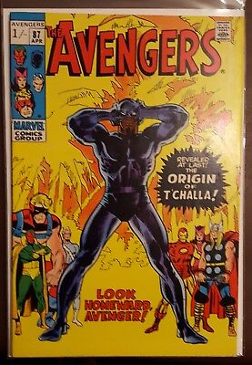 AVENGERS # 87, (1st SERIES / APRIL 1971 / VFN/VFN- / Pence Copy)