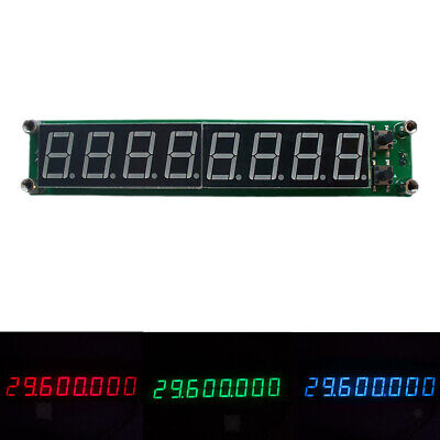 PLJ-8LED-H Signal Frequency Counter 8LED RF Meter LED 0.1MHz-1000MHz 3 Color