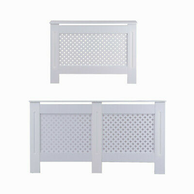 Home Radiator Cover Unfinished Or White Small Medium Large Wood Grill Covers New