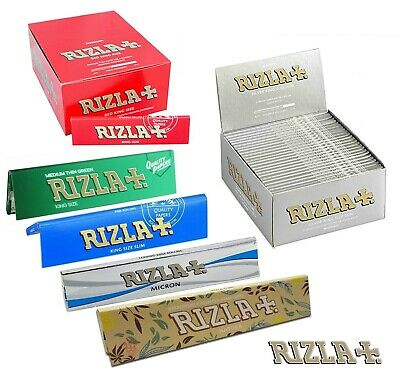 RAW Rolling Papers Organic/Classic Skins 1,2,3,4,5,10,25,50 King Size Rizla Ppr