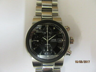 Oris 7521 TT1 Automatic Chronograph  Wrist Watch In Good Working Order