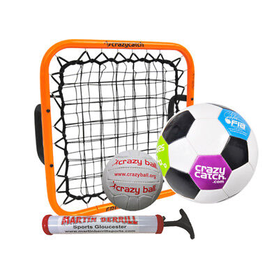 Crazy Catch Freestyle Hand Held Rebound Set - Exclusive to Martin Berrill Sports