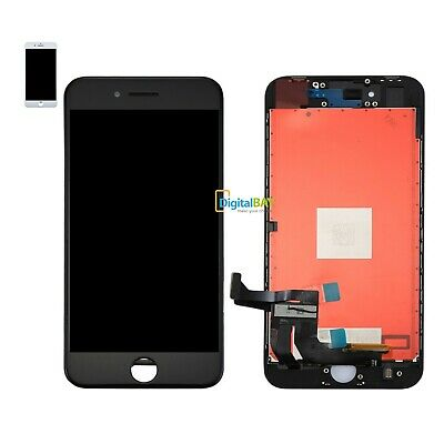 TOUCH SCREEN LCD DISPLAY RETINA PER APPLE IPHONE 8 PLUS SCHERMO Nero Bianco