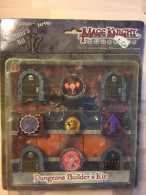 Mage Knight Dungeons Builders Kit OVP Neu
