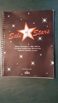 Sale Of Stars Holstein Dairy Cattle Sale Catalog 2005 Toronto Canada