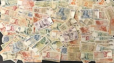 175 Mixed Greek Drachma Banknote Collection - Greece***large Bulk Lot*** (1438)