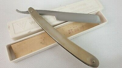 Vintage Straight Razor Wapienica surgical NOS from Poland