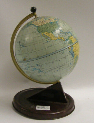 Small metal  Globe of the World