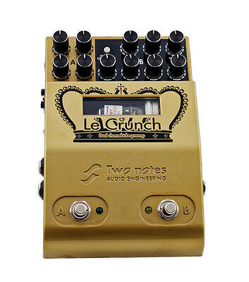 TWO NOTES Le Crunch Dual Tube Preamp