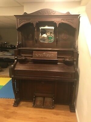 Antique Pump Organ Piano
