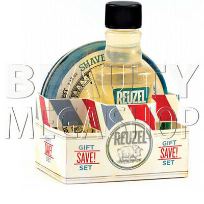 Reuzel – Kit Aftershave da 100 ml & Shave Cream da 95.8g