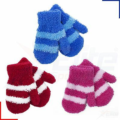 Soft Touch Babies Magic Winter Mittens Baby Boys Girls One Size Gloves Striped