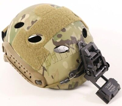 Ops-Core Fast Carbon Helmet SMALL/MEDIUM Wilcox L2 G05 Mount Multicam 59-99-129