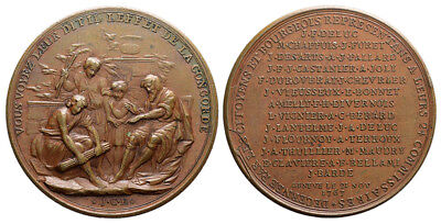 M- CH, Genève -  Medal 1767, The 24 Commissioners