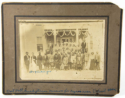 African-Native American in OKLAHOMA - BLACK TOWNS - OAK HILL INDUSTRIAL ACADEMY