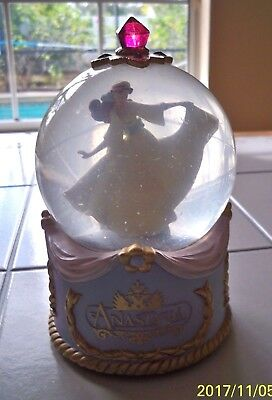 Anastasia Snow Globe San Francisco Music Box 1997 Movie Once Upon a December