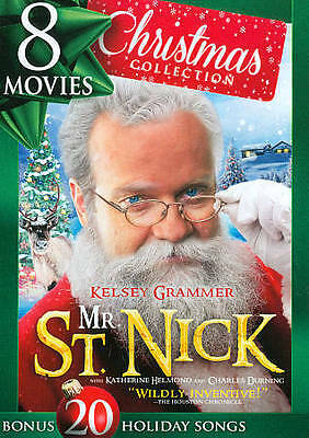 8 Movies - Christmas Collection (DVD, 2014, 2-Disc Box Set) *NEW*