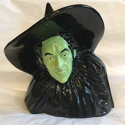 The Wizard Of Oz Wicked Witch Of The West Bust Coin Bank 2000 Turner Ent. Vandor