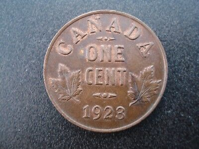 1923 Canada One Cent 1c Coin **NO RESERVE**