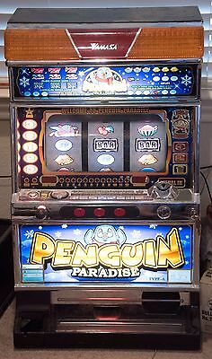 Yamasa Penguin Paradise Skill Stop Slot Machine Will Ship