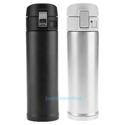500ml Stainless Steel Insulated Thermos Cup Vacuum Coffee Tea Mug Drink Bottle