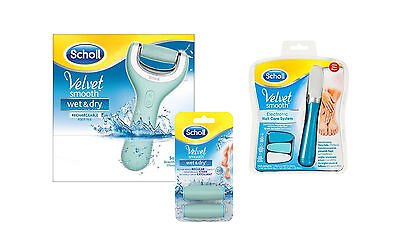 DR SCHOLL | Velvet Smooth Wet & Dry roll | Pedicure & Nail Care