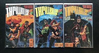 THRILLKILLER Batgirl & Robin (1-3) • 1997 • High Grade DC Comics Set!