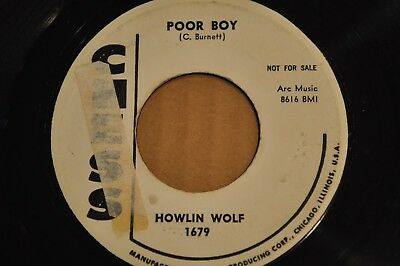 Howlin Wolf 45Rpm Poor Boy / Sitting On Top Of The World