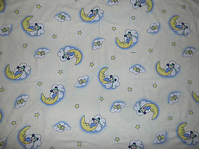 Bettwäsche Disney Baby Mickey Mouse Maus 90er vintage bedding fabric 90s Micky