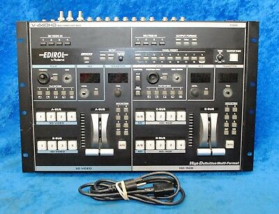 Edirol By Roland V-440 HD Multi-Format Video Mixer And Switcher 8-bit 13.5 MHz