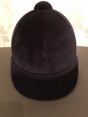 Brand New Charles Owen Young Riders Riding Hat. Black Size 6 1/2 53cm.