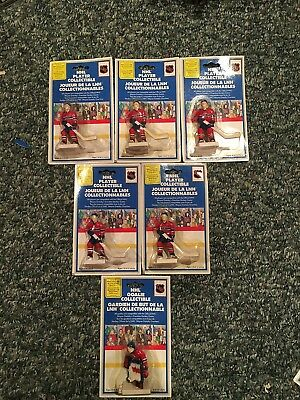 Wayne Gretzky's NHL Table Hockey: Montreal Canadiens Team Set of 6 in Blister Pk