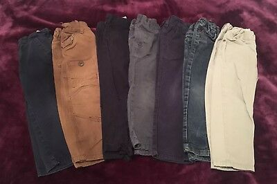 Bundle of boys trousers / jeans Age 2-3 Years - 7 pairs