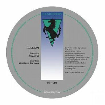 "Bullion  - Say Arr Ee Vinyl 10"" NEU"